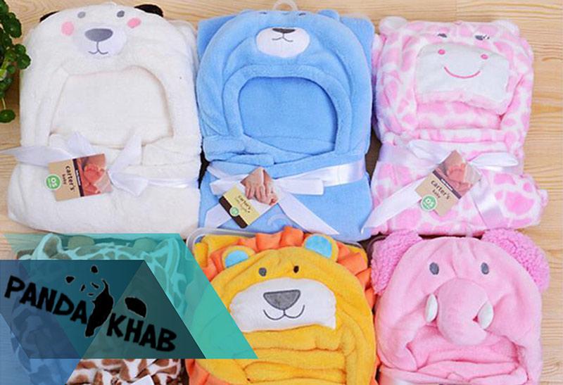 خرید مستقیم پتو نوزاد