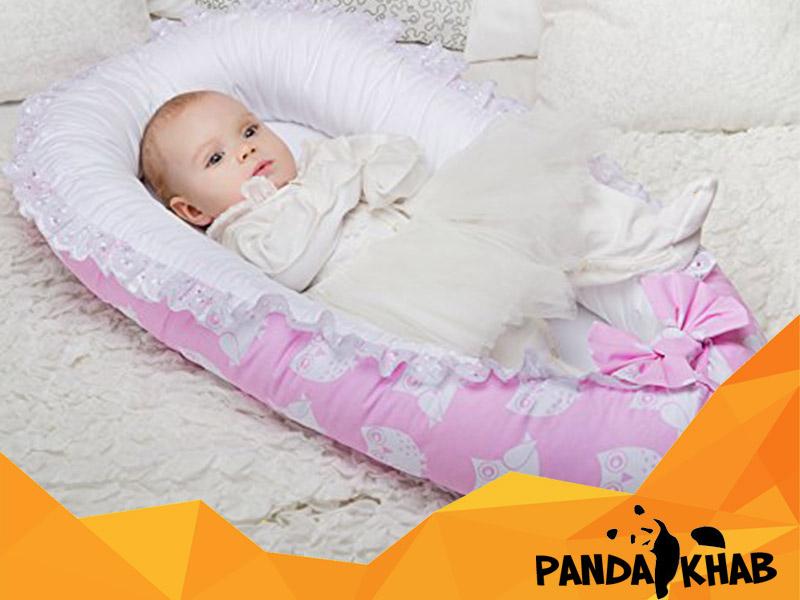 تشک نوزاد دخترانه