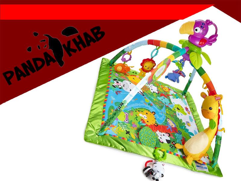 تشک بازی با طرح حیوانات