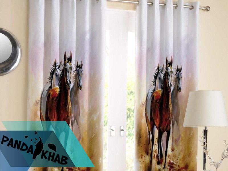 روتختی سه بعدی طرح اسب